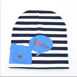 Other - Brand New I Love Mom Baby Beanie